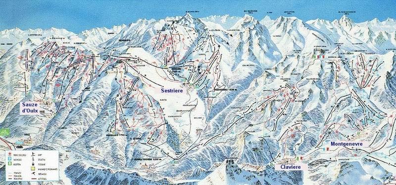 מפת מסלולים - ססטרייר