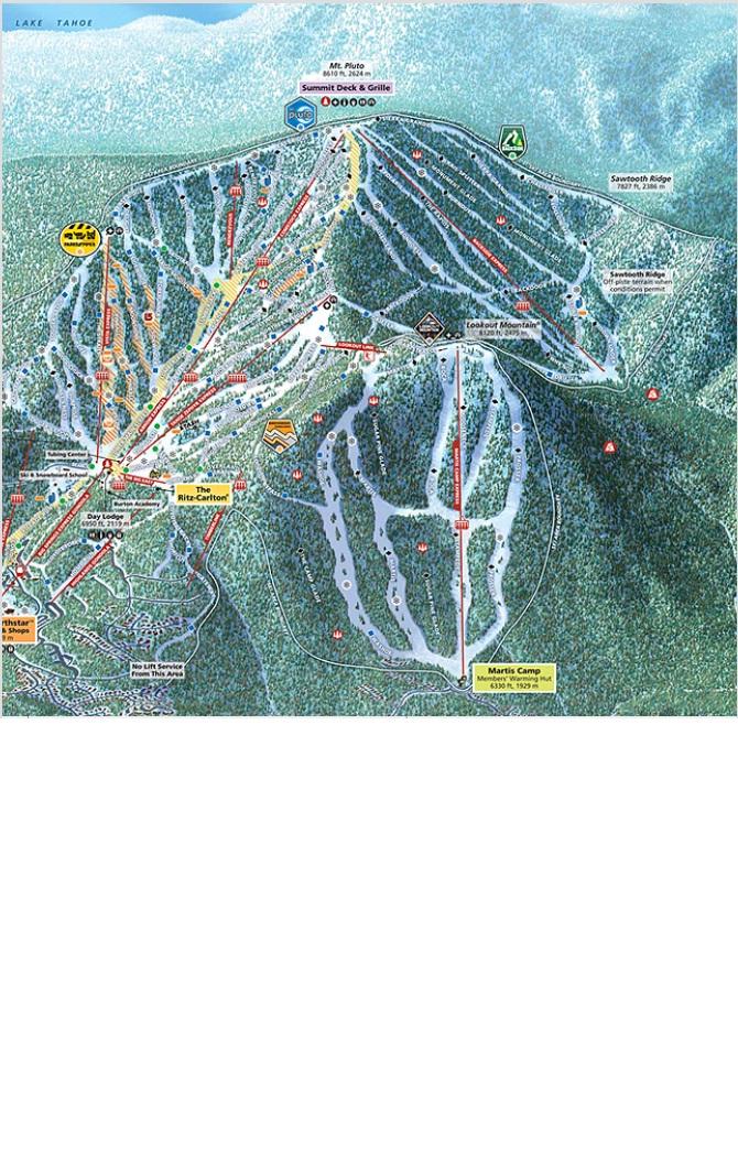 מפת מסלולים - נורת